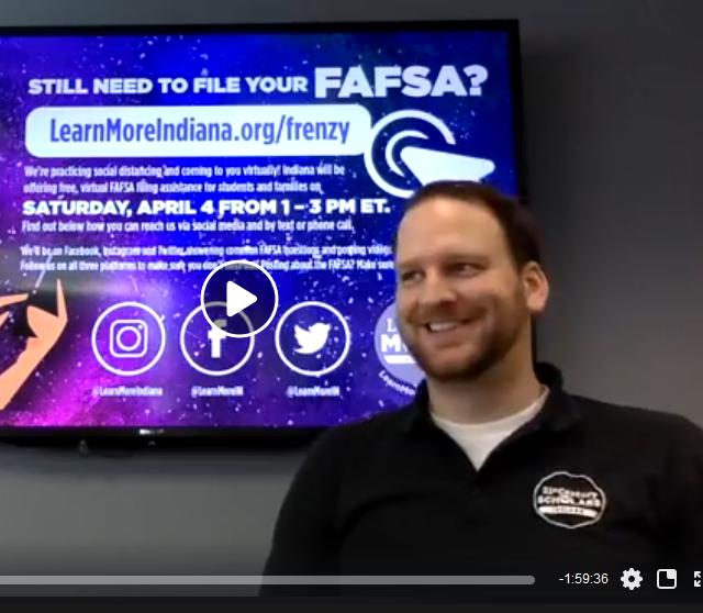 #FAFSABrightSpots: Indiana Creates a Virtual FAFSA Frenzy