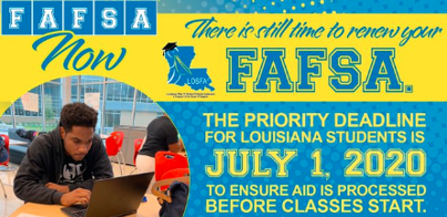 #FAFSABrightSpots: LOSFA Embraces the Opportunity to Provide Virtual FAFSA Completion Assistance