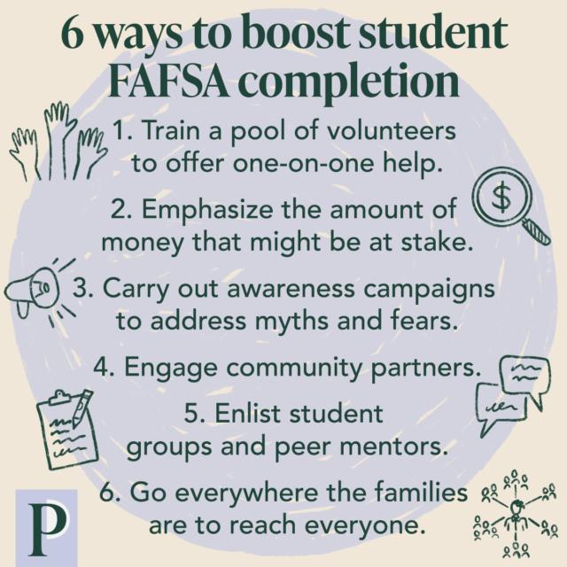6 Ways to Make FAFSA Completion a Community-Wide Effort